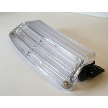 Clear Adjustable Windshield Vent