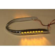 GL1800 Led Lighted Front Fender Trim