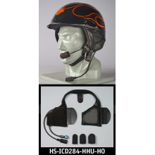 J&M Performance Shorty HHU Helmet Headset