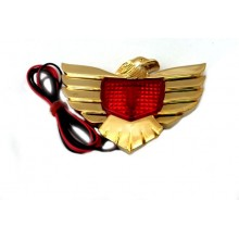Eagle, lighted Red